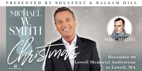 Michael W. Smith Christmas w/ special guest Marc Martel tickets