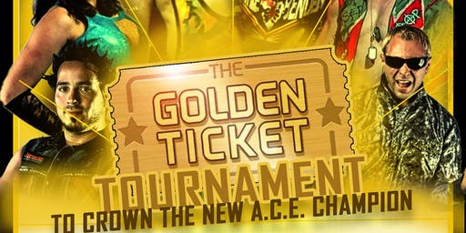 Action Coast Empire presents: Golden Ticket Tournament (Live Pro Wrestling)
