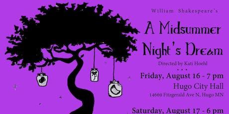 Midsummer Night's Dream tickets