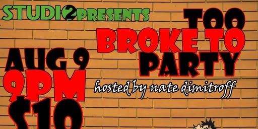 Too Broke To Party - Bathurst