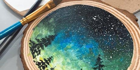 CRAFTS GALORE: Wooden Coaster Constellation Painting Workshop tickets