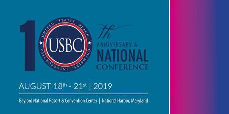 USBC 10th Anniversary & National Conference tickets