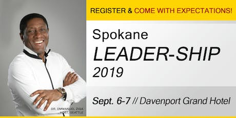 Spokane Leadership Conference 2019 tickets