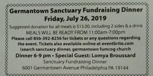 Sanctuary fundraising dinner