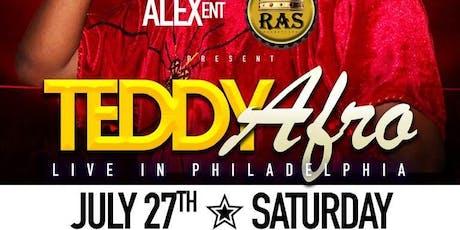 """TEDDY AFRO"" LIVE IN PHILADELPHIA! tickets"