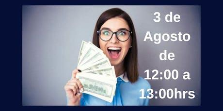 """Conferencia Gratuita """"Aceptando el dinero en mi vida"""" entradas"""