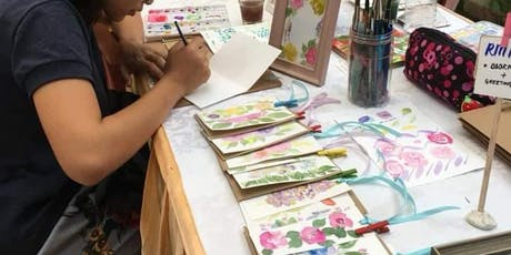 CRAFTS GALORE: Watercolour Painting Workshop tickets