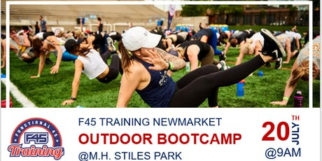 Free Outdoor Bootcamp with F45 Training Newmarket Canada tickets