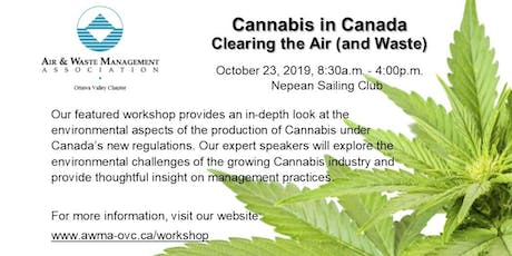 Cannabis in Canada Workshop: Clearing the Air (and Waste) tickets