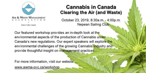 Cannabis in Canada Workshop: Clearing the Air (and Waste)