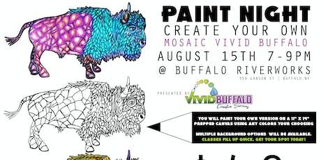 Paint Night: Mosaic Vivid Buffalo tickets