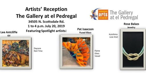 Artists Reception Gallery at el Pedregal
