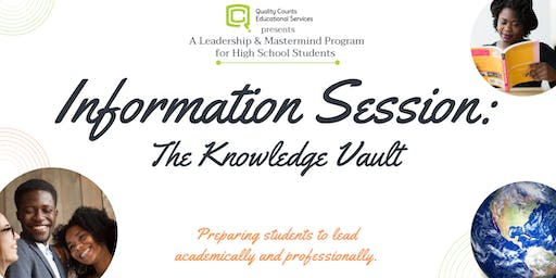 The Knowledge Vault Information Session