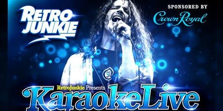 LIVE BAND KARAOKE Every Thursday tickets