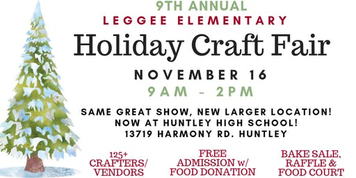 Leggee Holiday Craft Fair at HHS