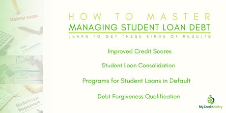 Student Loan Master Class tickets
