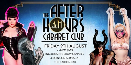 The After Hours Cabaret Club Burlesque Show