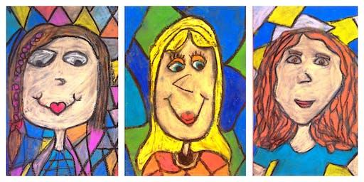 "I ""Heart"" Art Weekly Class (5-12 Years)"