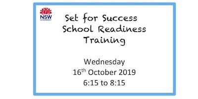 Set for Success. School Readiness Training