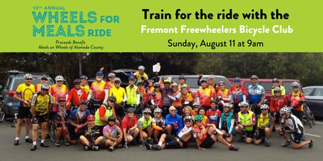 FREE Training Ride for #WFMR2019 tickets