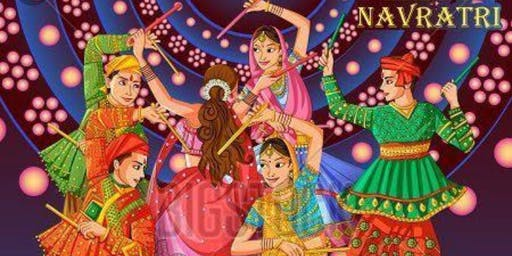Navratri Dandiya Function And Exhibition