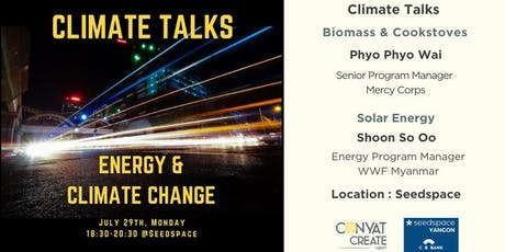 Climate Talks #7 | Energy & Climate Change tickets