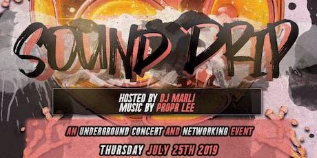 Sound Drip: Underground Concert & Open Mic tickets