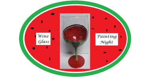 Wine Glass Painting Night