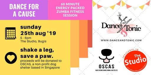 Dance for a Cause - Shake a leg, save a paw