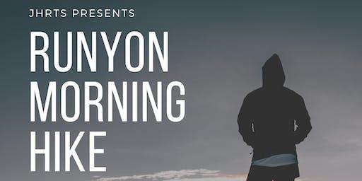 JHRTS LA Presents: Runyon Morning Hike