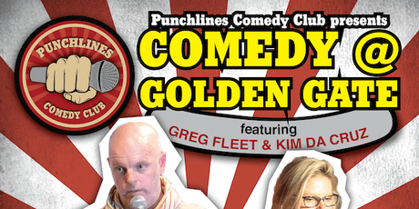 Comedy @ Golden Gate Hotel - Friday 26 July, 2019 tickets