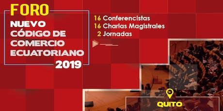 Foro Nuevo Código de Comercio Ecuatoriano entradas