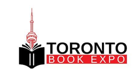 Toronto Book Expo - November 21, 2019 - FOR EXHIBITORS / VENDORS only tickets