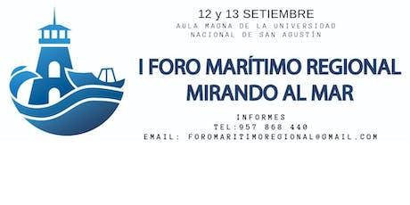 I Foro Marítimo Regional entradas