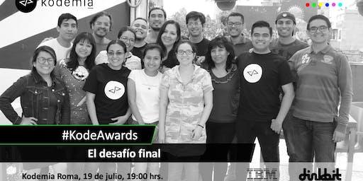 KodeAwards: Presentación de desafíos finales