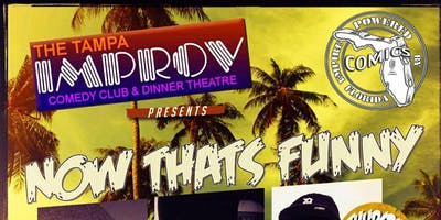 Jacoby Bruton Presents: Now That's Funny