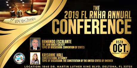 The 2019 FL RNHA Annual Conference tickets
