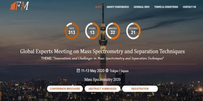 Global Experts Meeting on Mass Spectrometry & Separation Techniques