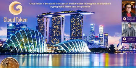 Cloud Token Crypto Super Wallet Launch In Singapore tickets