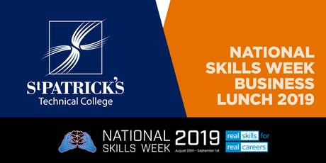 St Patrick's Technical College National Skills Week Business Lunch tickets