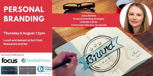 BWN August Event - Personal Branding with Anna McAfee