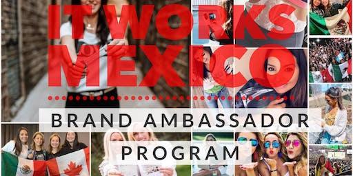 IT WORKS MEXICO- BRAND AMBASSADOR PROGRAM