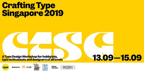 Crafting Type Singapore 2019 tickets