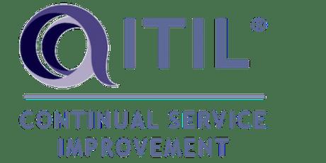 ITIL – Continual Service Improvement (CSI) 3 Days Training in Detroit, MI tickets