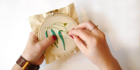 Beginners Hand Embroidery  tickets