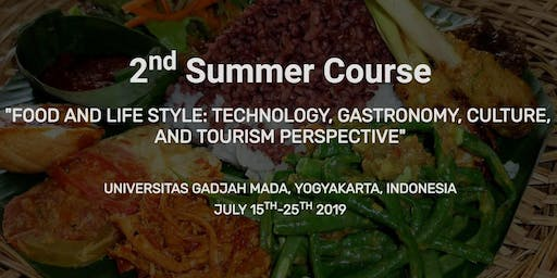 The 2nd Food and Lifestyle Summer Course FTP 2019