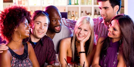 Meet, mix and mingle - ladies and gents! (21 to 50)-(Free Drink/Hosted) Van
