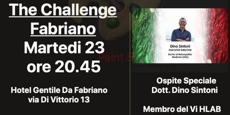 THE CHALLENGE  FABRIANO tickets