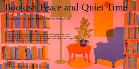 Bookish Peace and Quiet Time tickets