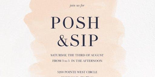 Summer Soiree Posh & Sip